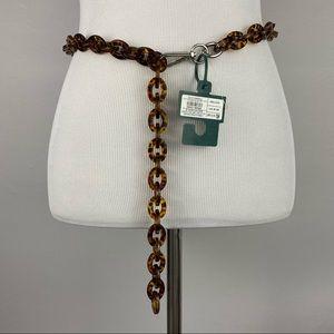 4/$20 Wild Fable Brown Tortoise Chain Link Belt